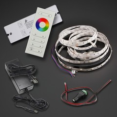 RGB LED Strip 16 feet Kit with Remote