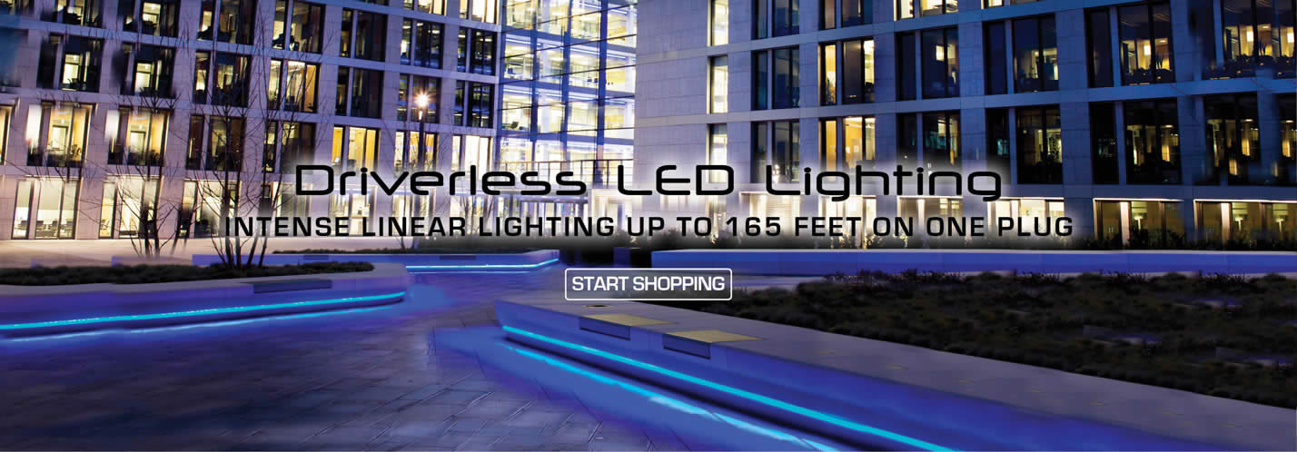 Solid Apollo LED Driverless LED Strip Lights up to 165 feet linear
